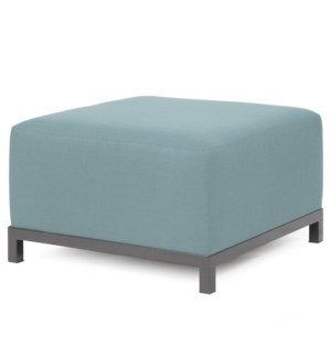 Axis Ottoman Sterling Breeze Slipcover (Cover Only)