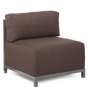 Axis Chair Sterling Chocolate Slipcover (Cover Only)