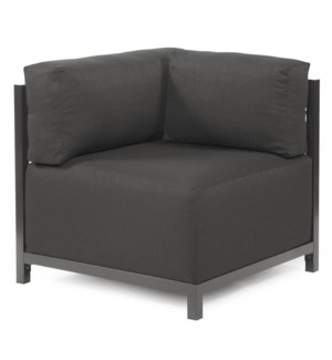 Axis Corner Chair Sterling Charcoal Slipcover (Cover Only)
