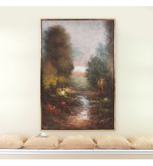 Silent River Hand Painted Original Art