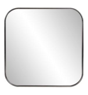 Copenhagen Square Silver Mirror