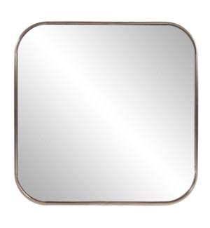 Copenhagen Square Brass Mirror