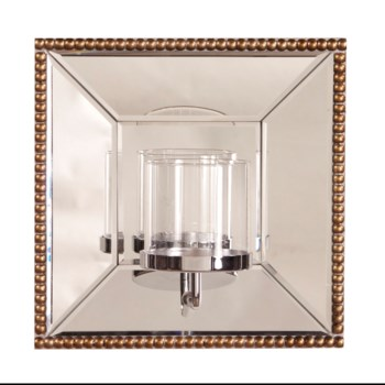 Lydia Mirror w/ Candle Holder