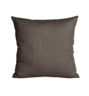 """Pillow Cover 16""""x16"""" Sterling Charcoal (Cover Only)"""