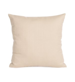 """Pillow Cover 16""""x16"""" Sterling Sand (Cover Only)"""