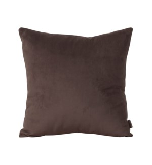 """Pillow Cover 16""""x16"""" Bella Chocolate (Cover Only)"""