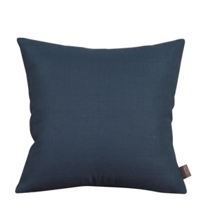 """Pillow Cover 16""""x16"""" Sterling Indigo (Cover Only)"""
