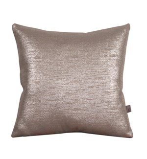 """Pillow Cover 16""""x16"""" Glam Pewter (Cover Only)"""