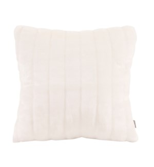 """Pillow Cover 16""""x16"""" Mink Snow (Cover Only)"""