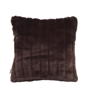 """Pillow Cover 16""""x16"""" Mink Brown (Cover Only)"""