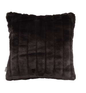 """Pillow Cover 16""""x16"""" Mink Black (Cover Only)"""