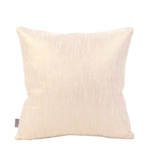 """Pillow Cover 16""""x16"""" Glam Snow (Cover Only)"""
