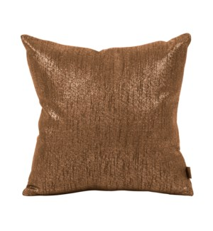 """Pillow Cover 16""""x16"""" Glam Chocolate (Cover Only)"""