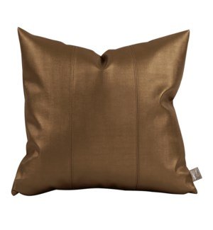 """Pillow Cover 16""""x16"""" Luxe Bronze (Cover Only)"""