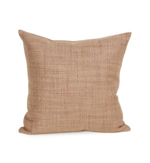 """Pillow Cover 16""""x16"""" Coco Stone (Cover Only)"""