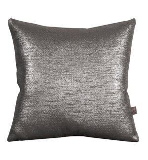 """Pillow Cover 20""""x20"""" Glam Zinc (Cover Only)"""