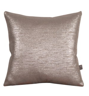 """Pillow Cover 20""""x20"""" Glam Pewter (Cover Only)"""