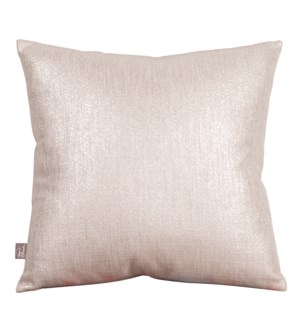 """Pillow Cover 20""""x20"""" Glam Sand (Cover Only)"""