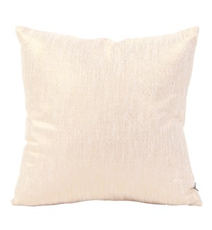 """Pillow Cover 20""""x20"""" Glam Snow (Cover Only)"""