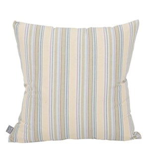 """Pillow Cover 20""""x20"""" Summer Stripe (Cover Only)"""