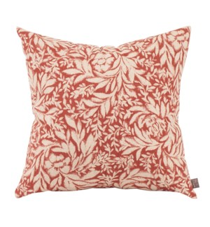 """Pillow Cover 20""""x20"""" Iris Rust (Cover Only)"""
