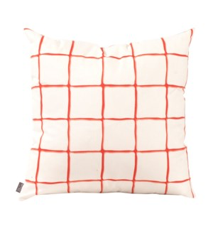 """Pillow Cover 20""""x20"""" Lattice Canyon (Cover Only)"""