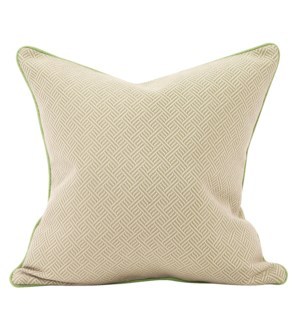 """Pillow Cover 20""""x20"""" Beach Club Palm (Cover Only)"""