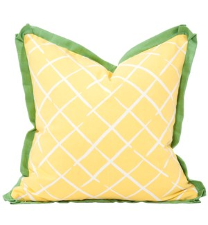 """Pillow Cover 20""""x20"""" Cove End Daffodil (Cover Only)"""