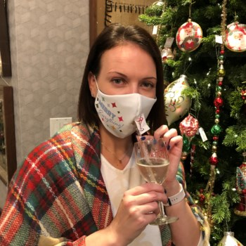 Happy Hour Reusable Face Mask Merry Everything