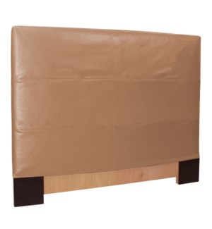 Twin Slipcovered Headboard Avanti Bronze (Base and Cover Included)