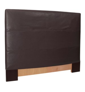 Twin Slipcovered Headboard Avanti Black (Base and Cover Included)