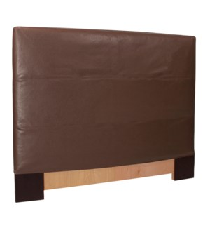 FQ Slipcovered Headboard Avanti Pecan (Base and Cover Included)