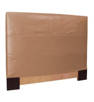 King Slipcovered Headboard Avanti Bronze (Base and Cover Included)
