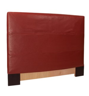 King Slipcovered Headboard Avanti Apple (Base and Cover Included)