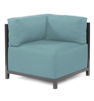 Axis Corner Chair Sterling Breeze Titanium Frame