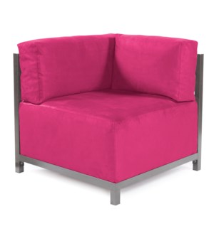 Axis Corner Chair Regency Fuchsia Titanium Frame