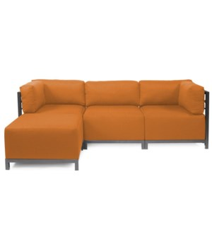 Axis 4pc Sectional Sterling Canyon Titanium Frame