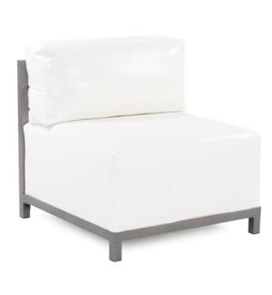 Axis Chair Atlantis White Titanium Frame