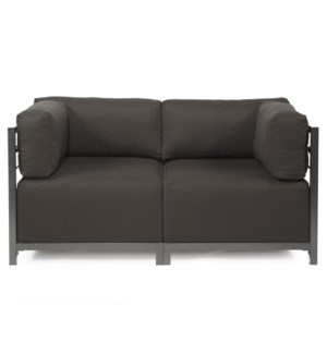 Axis 2pc Sectional Seascape Charcoal Titanium Frame