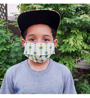 Reusable Kids Face Mask in Beads Spa