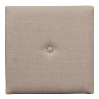Wall Pixel with Button Linen Slub Natural