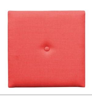 Wall Pixel with Button Linen Slub Poppy