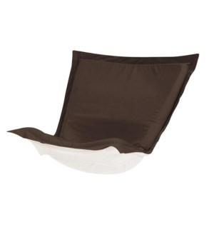 Puff Chair Cushion Seascape Chocolate Cushion and Cover