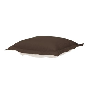 Puff Chair Ottoman Seascape Chocolate Cushion and Cover