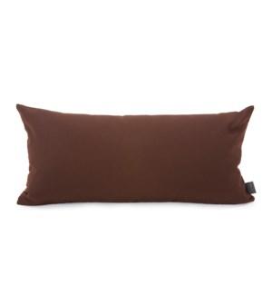 Kidney Pillow Seascape Chocolate