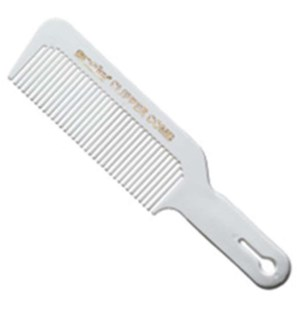 WHITE CLIPPERING COMB
