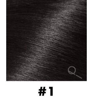 """Tape-in Hair Extensions, Color #1, 22"""" Long, Straight, 10pcs"""