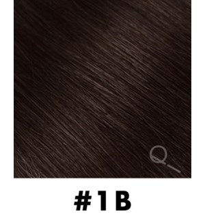 """Tape-in Hair Extensions, Color #1B, 18"""" Long, Straight, 10pcs"""
