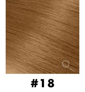 """Tape-in Hair Extensions, Color #18, 18"""" Long, Straight, 10pcs"""