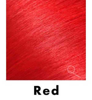 """Tape-in Hair Extensions, Color #RED, 18"""" Long, Straight, 4pcs"""